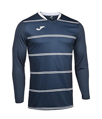 Joma 100253.100 - Camiseta de equipación de manga larga para hombre color negro, talla 6XS-5XS Azul marino