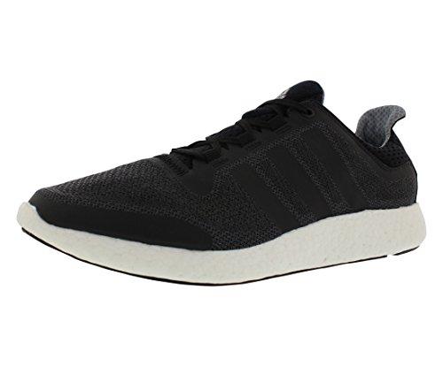 adidas Performance Herren Pureboost 2 m Laufschuh Schwarz / Schwarz / Tech Grey