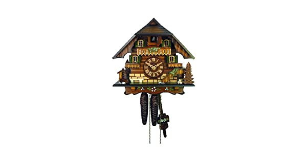 Amazon.com: Reloj de cuco Little House del Bosque Negro ...