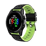 HHmei Smart Watch Sports Fitness Calorie Heart Rate Tracker Pedometer Watch IP67 R13 Smart Watch (Green)