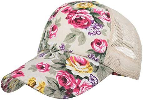 Likai Gorras Bordadas de Flores para Mujer Sombreros para el Sol ...