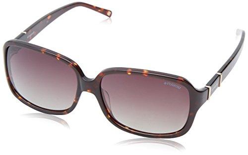 - Polaroid X8403S Polarized Square Sunglasses,Havana Gold & Brown Gradiant Polarized,60 mm
