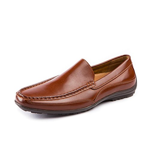 Deer Stags Men's Drive Slip-On Loafer Dark Luggage 8.5 EEE US