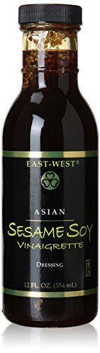 East-West Specialty Sauces, Sesame Soy Vinaigrette, 12 Ounce (Pack of 4)