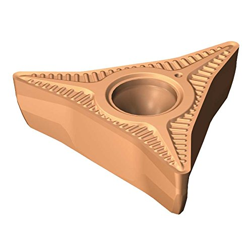 - Sandvik Coromant CP-A1104-L5 1115 Coro Turn Prime Insert for Turning, Carbide, Neutral Cut, 1115 Grade, (Ti, Al) N+()2O3 (Pack of 5)