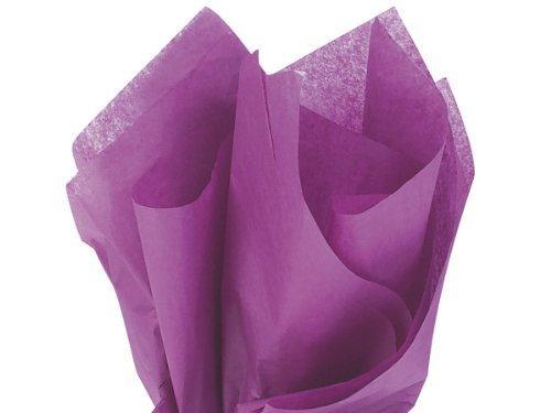 Plum Tissue Paper - Brand New Plum Purple Bulk Tissue Paper 15 Inch x 20 Inch - 100 Sheets