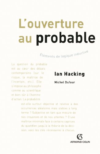 L'ouverture au probable (Hors Collection) (French Edition)