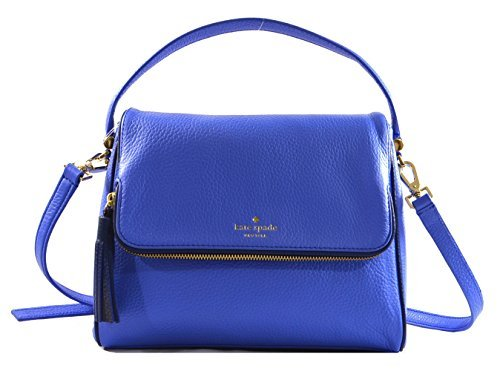 Kate Spade Chester Street Miri Pebbled Leather Handbag Crossbody Bag in Adventure Blue Ocean Blue