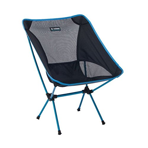 Big Agnes - Helinox - Chair One, Portable and Compact Camping Chair, Black (Camping Rain Chair)