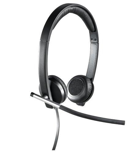 🥇 Logitech H650e Auriculares con Cable