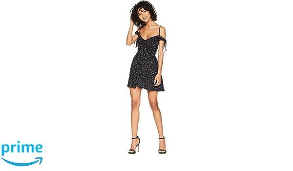 05f14d2f13f6 Flynn Skye Women's Bodhi Mini Dress Stardust Large at Amazon Women's ...