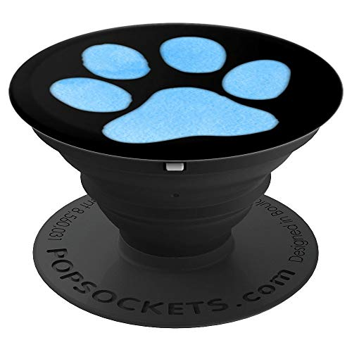 Sky Blue Dog Paw Print Puppy Pups Owner Lover Gift, used for sale  Delivered anywhere in USA