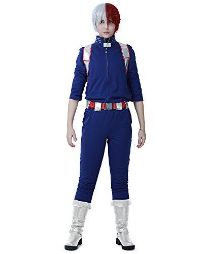 MicCostumes Gaara - Miccostumes Men's Shoto Todoroki Cosplay Costume