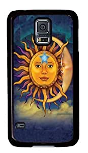 Samsung Galaxy S5 Cases & Covers -Sun Moon Polycarbonate Hard Case Back Cover for Samsung S5/Samsung Galaxy S5 Black