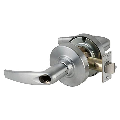 B00L170YY8 Schlage Commercial ND93BDATH626 ND Series Grade 1 Cylindrical Lock, Vestibule Vandlguard, Athens Lever Design, Satin Chrome Finish 417bG-mxQ8L