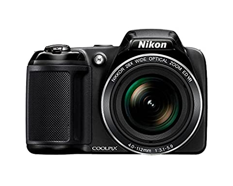 Nikon Coolpix L340 20.2 MP Digital Camera with 8GB memory card bundle (28x Optical Zoom, 3.0-Inch LCD, 720P Video, (Nikon D7200 Body)