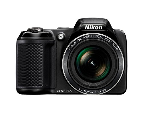 Nikon-Coolpix-L340-202-MP-Digital-Camera-with-8GB-memory-card-bundle-28x-Optical-Zoom-30-Inch-LCD-720P-Video-Black