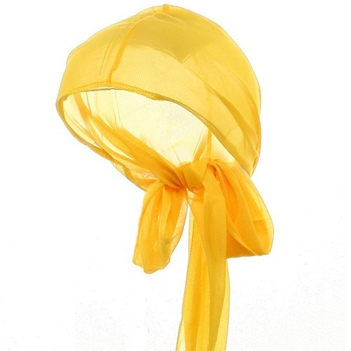 Large Satin Wrap-Yellow OSFM ()