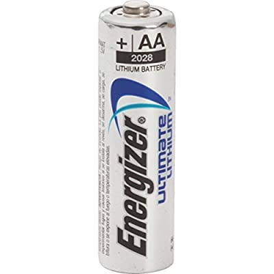 AA Energizer Lithium Battery 4 Per Package