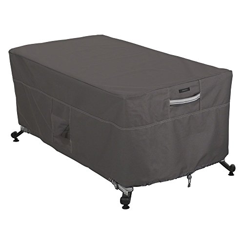 Classic Accessories Ravenna 56L x 38W in. Rectangular Fire Pit Table Cover
