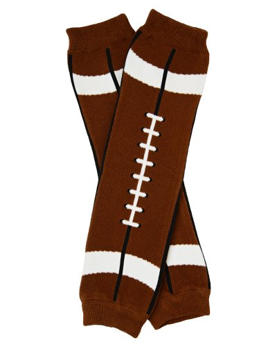 Brown Football Leg Warmers for Baby, Toddler,& Youth by juDanzy ()