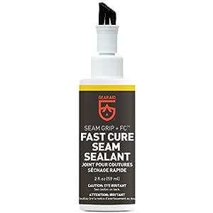 Gear Aid Seam Grip FC Fast Cure Sealant for Tents, Clear, 2 fl oz