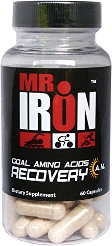 Mr IRON GOAL Amino Acids Recovery A.M. 60 Capsules