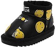 SHANGGUAN Kids Boots for Infant Toddler Girls Warm Boots