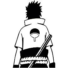 "Naruto -- Sasuke Uchiha Anime Decal Sticker for Car/Truck/Laptop (4.0"" x 2.5"")"