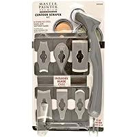 Allway Tools Soft Grip Contour Scraper Set with 6 Blades