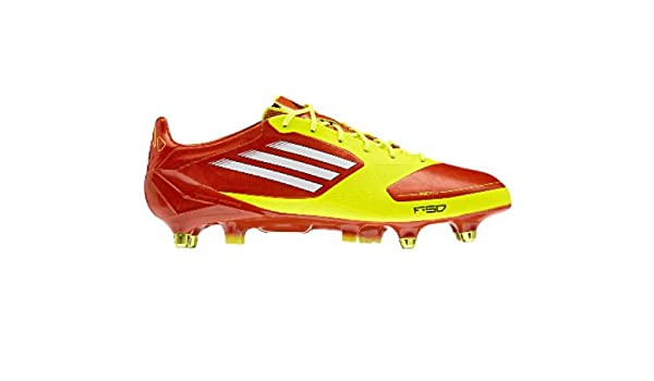 sports shoes 9d364 cfc93 adidas F50 adizero XTRX SG Fussballschuhe high energy-electricity - 46 23  talla 11.5 UK Amazon.es Zapatos y complementos
