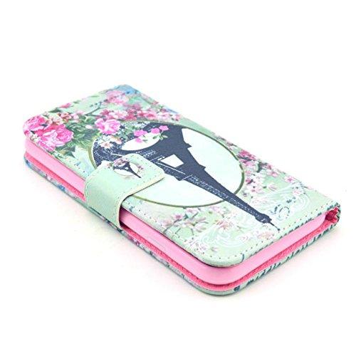 Painting Art Design Beutel PU Leder Stehen Flip Schutzhülle Hülle Tasche Schale Case Cover für Apple iPhone 6 4.7 Zoll (33#)