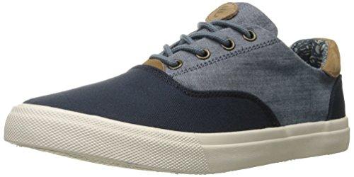 Crevo Mens Tiller Fashion Sneaker Navy