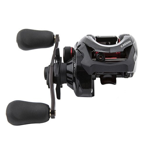 "Shimano Caenan Baitcasting 6.3:1 Gear Ratio 26"" Retrieve Rate 5 Bearings Left Hand Clam Package Reel"