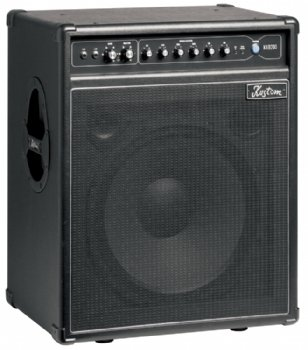 Kustom Amps KXB200 200-Watt 1 x 15 Inches with Tweeter Bass 6-Band Equalizer