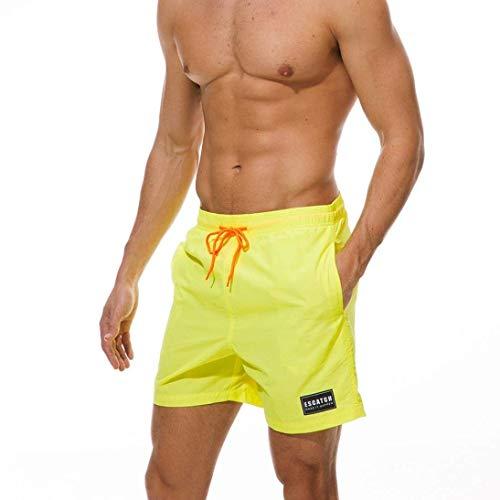 Décontractés Surf Vêtements Shorts Size Gelb Garçons Plus Fête Sport Pantalons Pour Maillots Hommes De Bain Trunks Plage vYYwgE6q