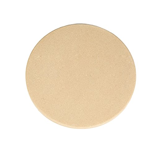 Dofover 13'' Round Extra Thick Pizza Stone For Oven & BBQ Grill (13 Inch - C) by Dofover