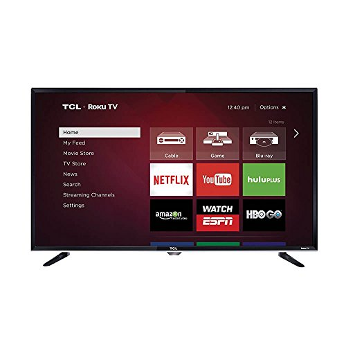 TCL 40-inch 1080p 120Hz Roku Smart LED HDTV w/Built-in Wi...