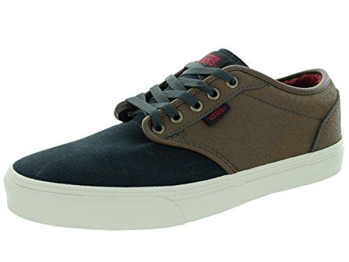 Vans Men's Atwood (Leather/Suede) Earth/Phtm Skate Shoe 9 Men US