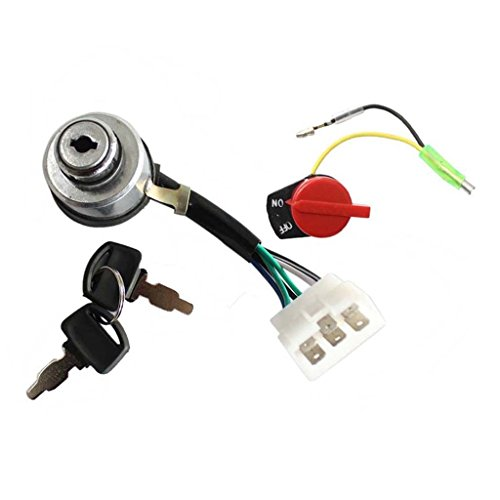 HURI Generator Ignition Key Switch + On Off Stop Switch for DuroMax XP4400 XP4400-CA XP4400E XP4400E-CA XP4400EH MX4500E XP6500E XP8500E XP8500E-CA XP10000E & XP10000E-CA Cheap Price