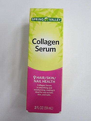 Spring Valley Collagen Serum Hair, Skin and Nail, 2 fl oz