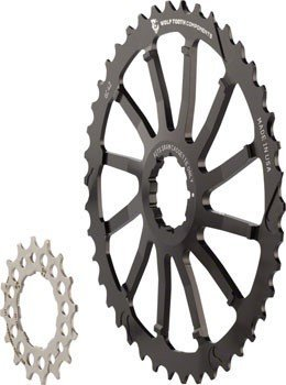 WOLF TOOTH COMPONENTS 42T GC cog for Shimano 11-36 10-speed Cassettes BLACK