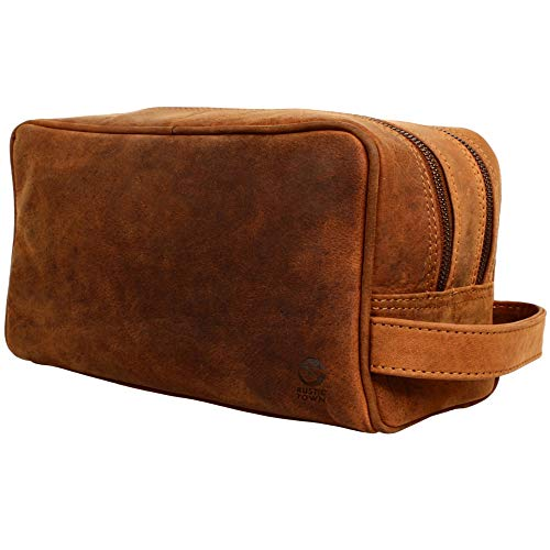 Genuine Leather Travel Toiletry