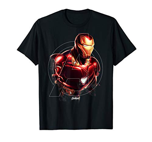 Marvel Avengers Endgame Iron Man Portrait Graphic - Tee T-shirt Ironman
