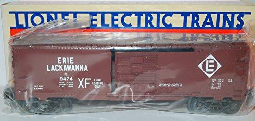 Lionel Trains 6-9474 Erie Lackawanna Boxcar EL 1984 uncatalogued w/dc sprung trucks