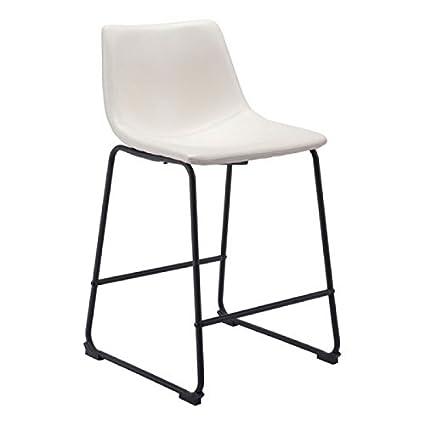 Strange Amazon Com Zuo Modern Counter Height Dining Chair Smart Creativecarmelina Interior Chair Design Creativecarmelinacom
