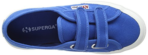 Superga  2750 Jvel Classic,  Unisex Kinder Sneakers Blau (Sea Blue)