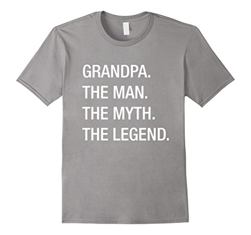 Amazon grandpa the man the myth the legend t shirt clothing sciox Gallery