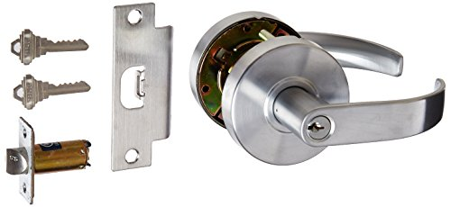 Schlage commercial CL609EVC-26D Commercial Classroom Standard GR2 Curved Door Lock with Cylinder - Schlage Lock Removable Core