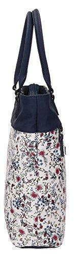 Pepe Jeans Treval Borsa Messenger, 37 cm, 14 2/3 liters, Multicolore (Multicolor)